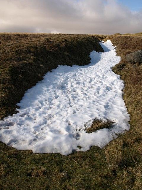 Snow, tin working, Holne Ridge