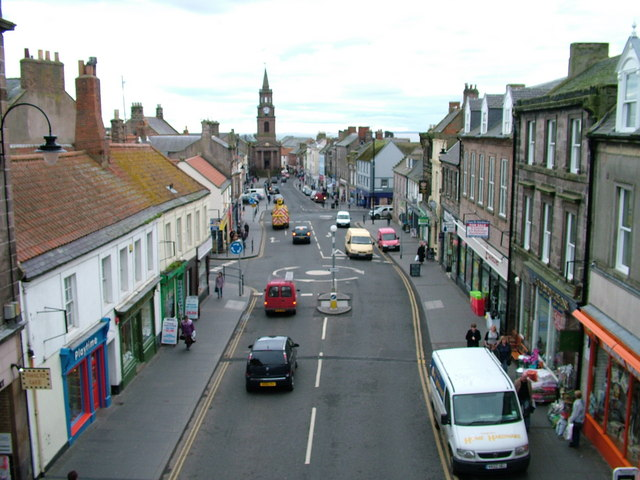 Berwick-on-Tweed from the wall