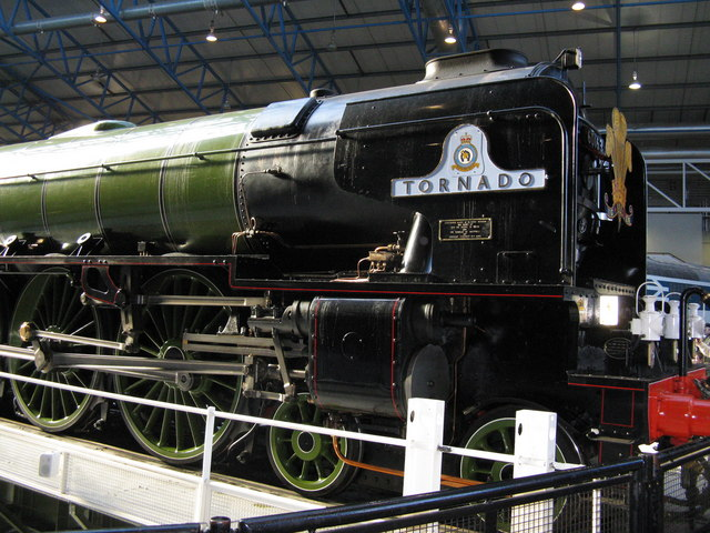 'Tornado' in the National Railway Museum