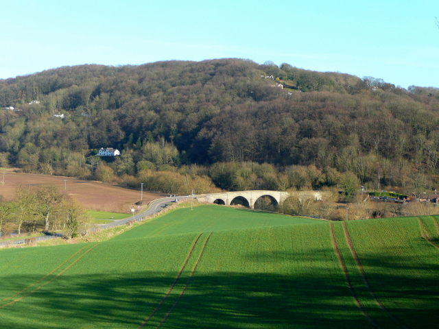 Kerne Bridge and Leys Hill