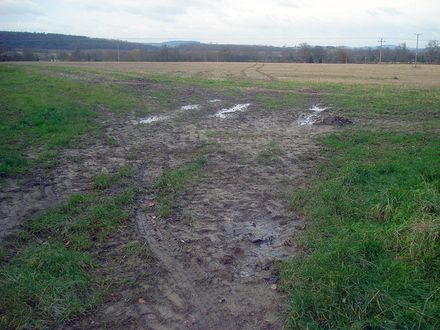 Arable land north of Wigmore