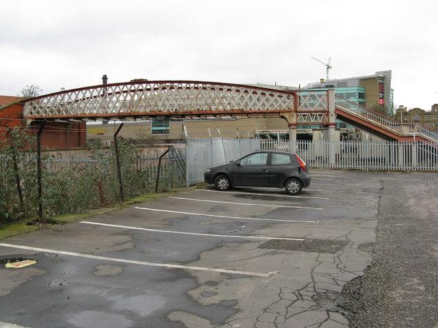 Old footbridge, Manchester Exchange station
