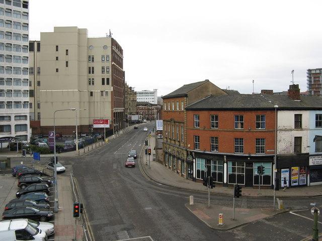 View along Chapel Street