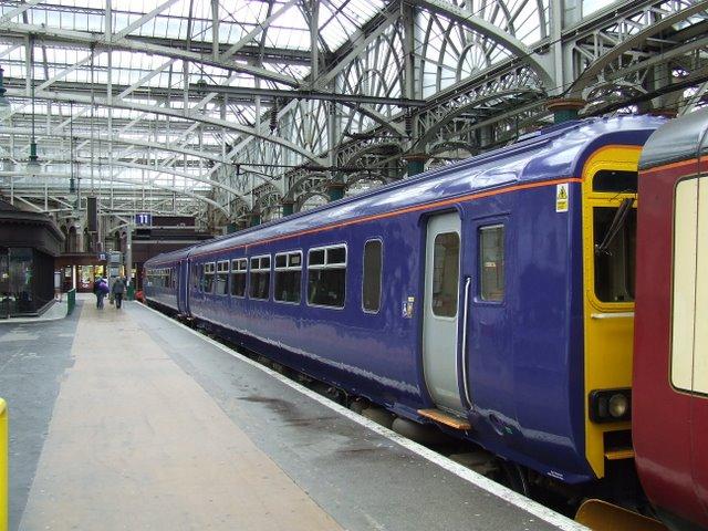 A blue Train