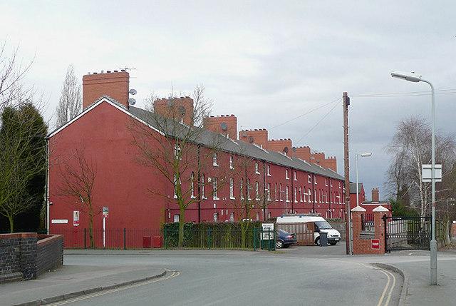 Goldthorn Terrace (rear view), Wolverhampton