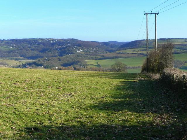 Pasture land near Baynhams