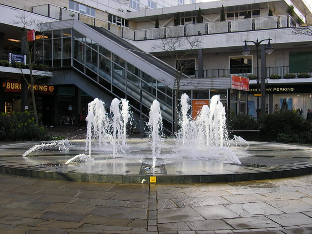 Clock Fountain, Bracknell