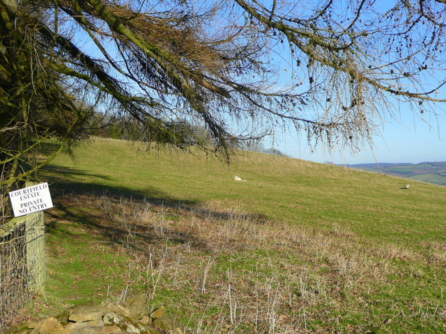 Courtfield Estate land