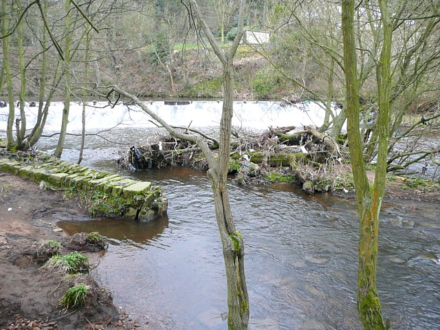 Ramp down to the River Calder, Sowerby Bridge