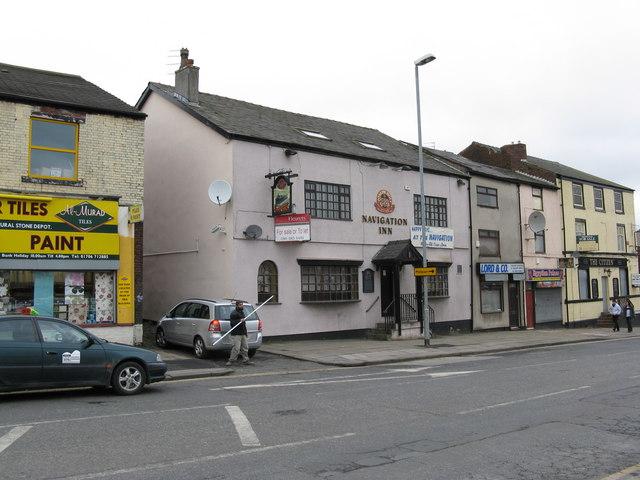 The 'Navigation Inn', Drake Street, Rochdale