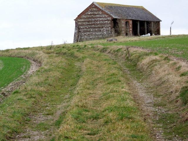 Barn, Marleycombe Hill