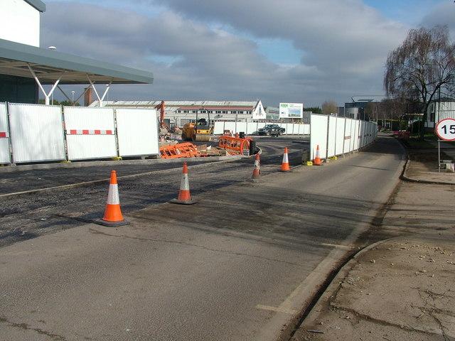 Asda roundabout takes shape