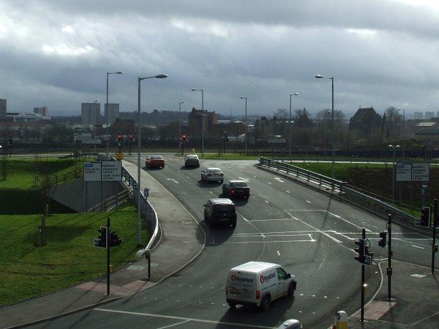 New road bridge at Partick