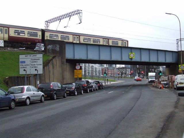 Beith Street Railway bridge