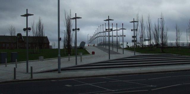 New bridge at Partick