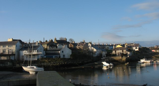 Houses overlooking Cemaes Harbour