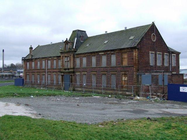 Old dock building