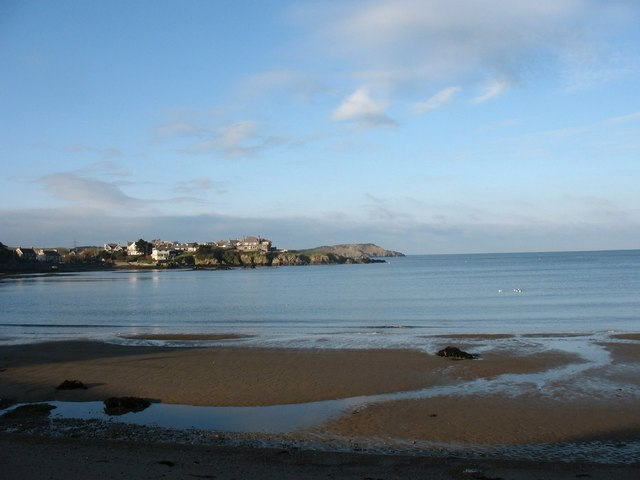 Traeth Mawr from the east
