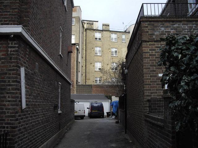 Alleyway off Marlborough Street