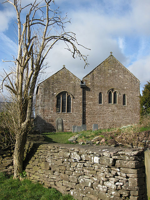St. Michael's Church, Garway, view of the east end