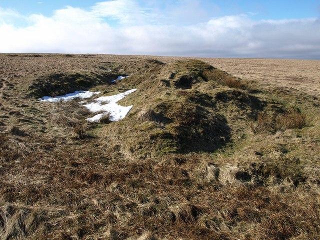 Tinner's mound near Ryder's Hill