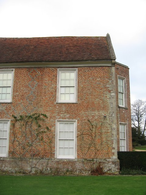 Corner of The Vyne house