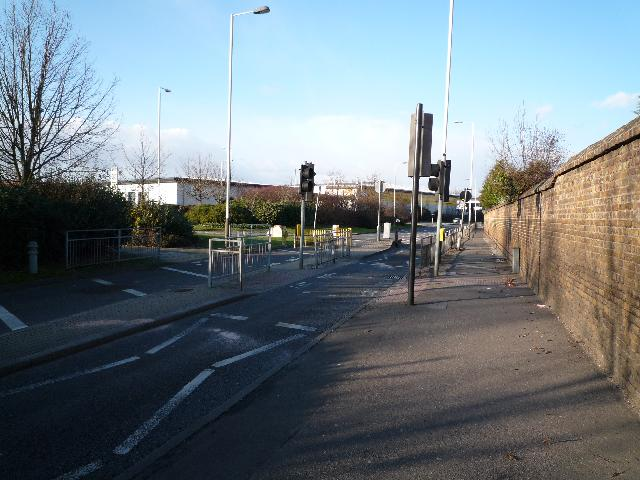 Pedestrian crossing on Windmill Lane