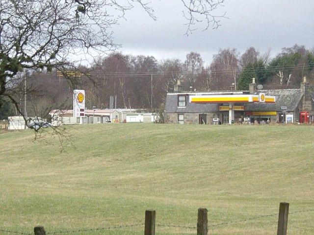 Campfield petrol station
