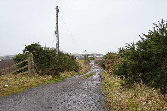Road leading to Turfbeg, Forfar