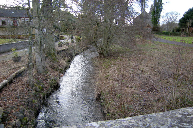 View of Kettins Burn looking upstream