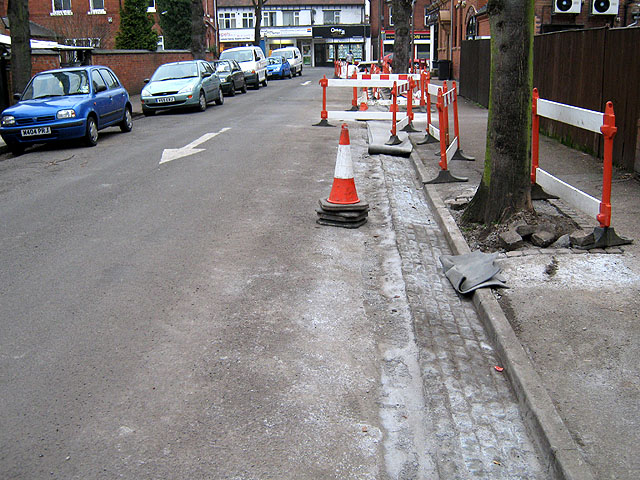 New Drainage Channel, Lime Grove, Long Eaton