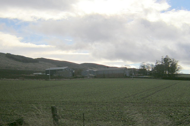 View of South Gask Farm