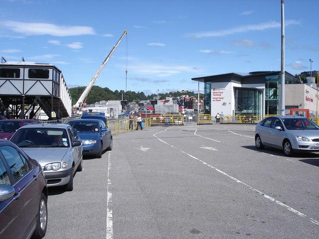 Oban - ferry terminal