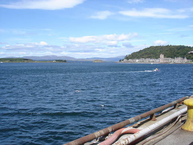 Oban Bay - from the ferry terminal