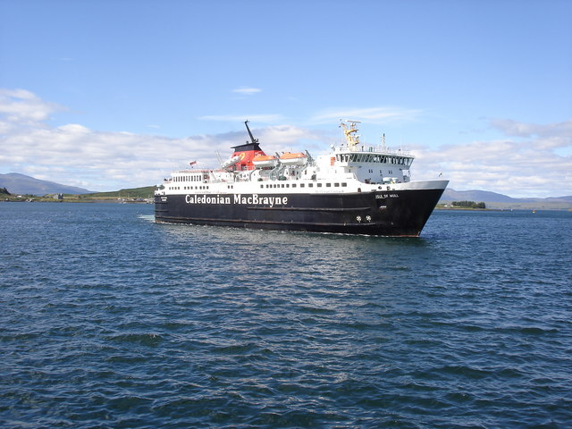 The Mull ferry