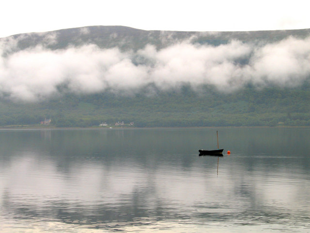 Low clouds over Loch Fyne