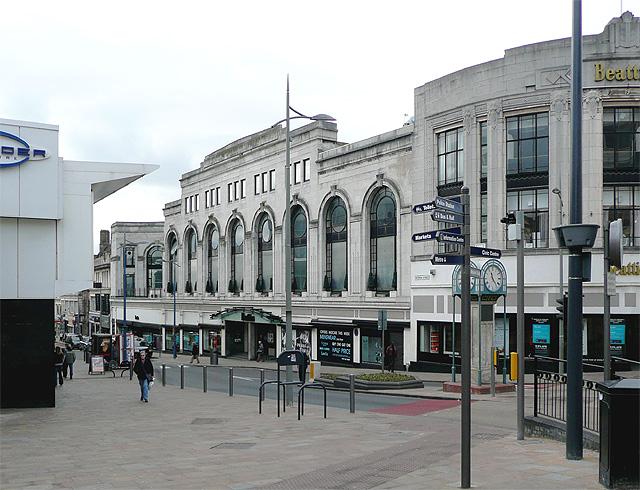 Beatties in Victoria Street, Wolverhampton