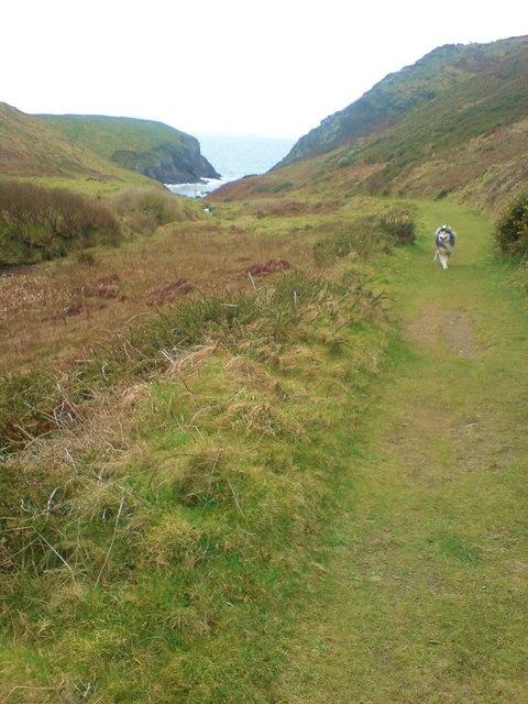 Path to Porth y Rhaw