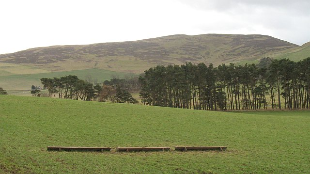 Sheep troughs above the Biggar Water