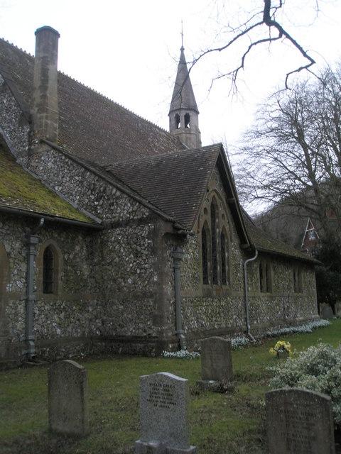 North side of St John the Evangelist, Langrish
