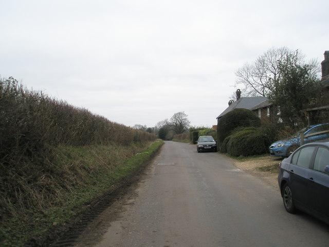Church Lane, Privett