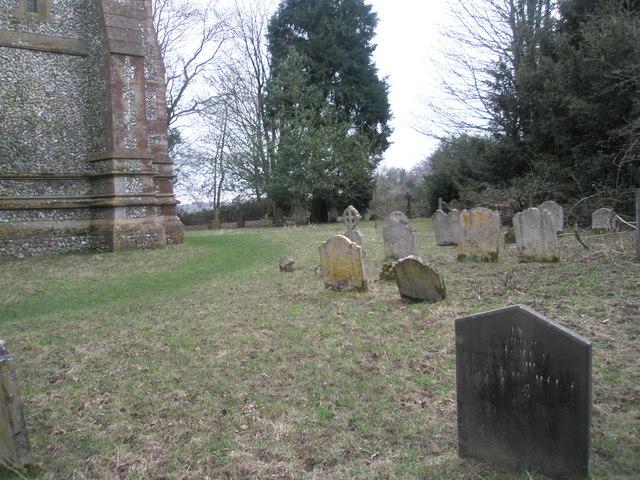 Privett churchyard
