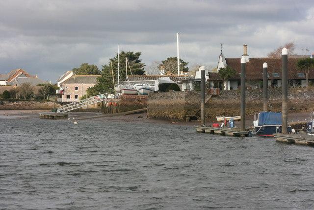 Topsham waterfront