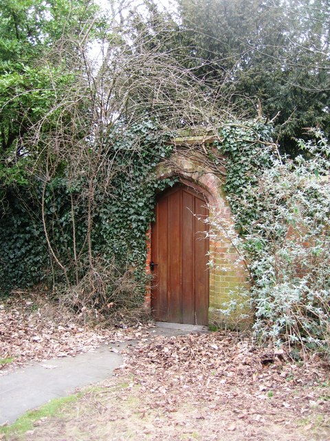 Entrance to The Rectory