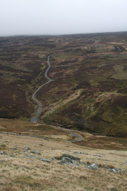 Road to the Shooting Box, Mallowdale Fell