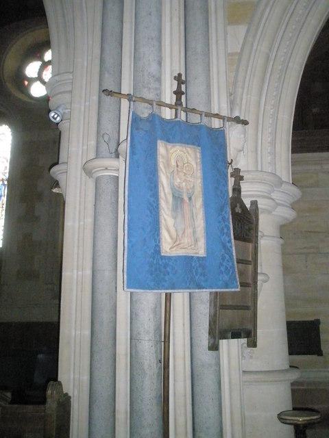 Banner within Holy Trinity, Privett