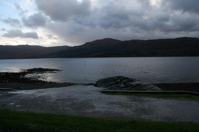 Slipway, Loch Sunart