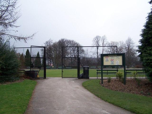 Hillsborough Park Pavilion and Bowling Club Entrance, Hillsborough, Sheffield