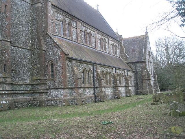 North side of Holy Trinity, Privett