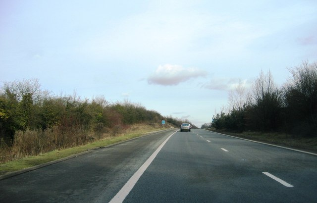 Approaching the M3 - junction 6